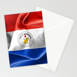 Paraguay Flag Reverse Side Stationery Cards