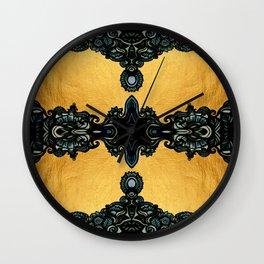 Golden fleece Wall Clock