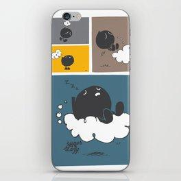 Sleepy Thinking Bubble iPhone Skin