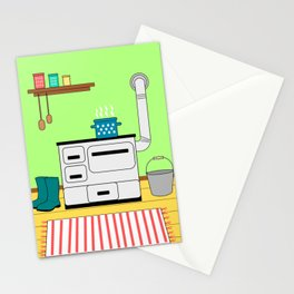 Vintage kitchen Stationery Cards