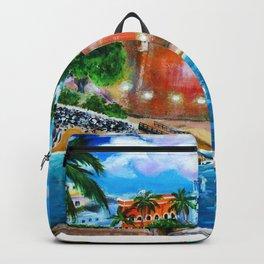 La Fortaleza, Old San Juan, Puerto Rico Backpack