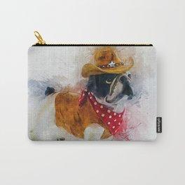 Cowboy Bulldog Carry-All Pouch