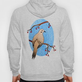 Good Mourning, Dove (With White) Hoody