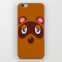 Animal Crossing Tom Nook iPhone Skin