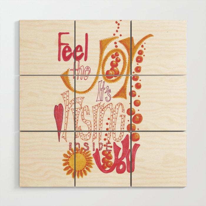 Feel The JOY Wood Wall Art