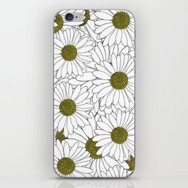 Daisy Yellow iPhone Skin