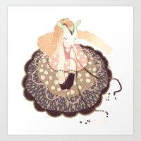 doll Art Prints featuring Doll by Jillian Reece