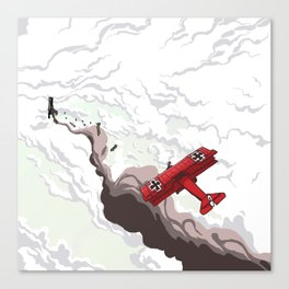 Red Baron Canvas Print