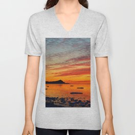 Coastal Delight Unisex V-Neck