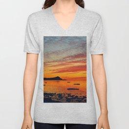 Coastal Delight Unisex V-Neck