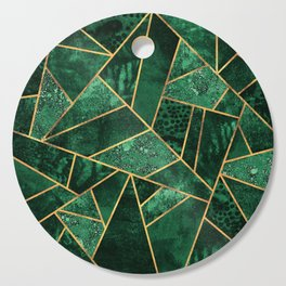 Deep Emerald Cutting Board