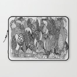 Mysterious Village Laptop Sleeve