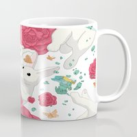 easter Mugs featuring Easter by Devin McGrath