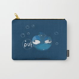 Character collection saltwater fish puff Carry-All Pouch