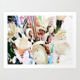 Marionettes Art Print
