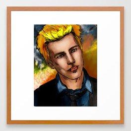 Alternative Kaji (Aka Jake Abel with Blonder Hair) Framed Art Print
