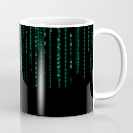 Binary Top Down Coffee Mug