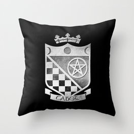 Cabot Shield Throw Pillow