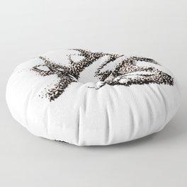 The Zodiac 12 - Snake Floor Pillow