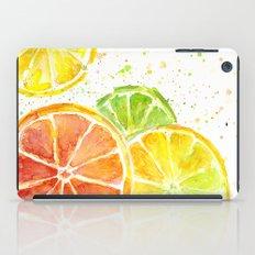 Fruit Watercolor Citrus iPad Case