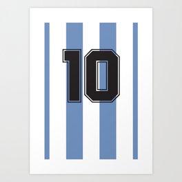 Maradona 1986 Art Print
