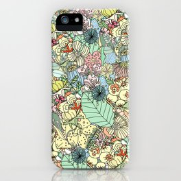 Nature Bloom Pattern iPhone Case