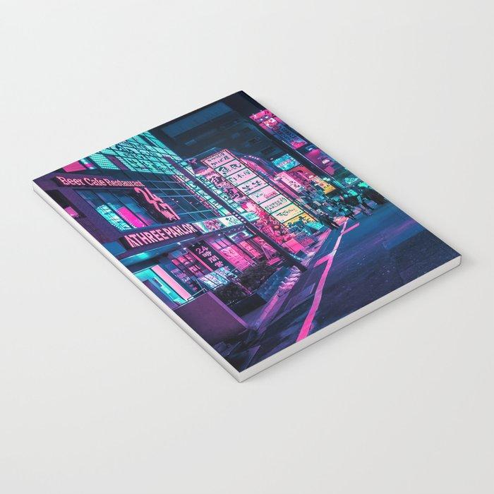 A Neon Wonderland called Tokyo Notebook