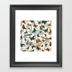 Looking for my butterfly Framed Art Print