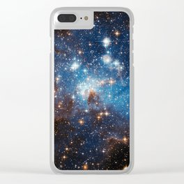 Large and Small Stars in Harmonious Coexistence Clear iPhone Case