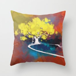 wonderland*2 Throw Pillow