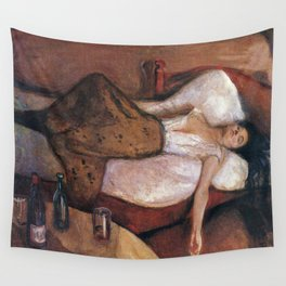 Edvard Munch - The Day After Wall Tapestry