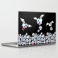 league of legends Laptop & iPad Skins featuring League of Legends : POROS  by AngeltwoZion