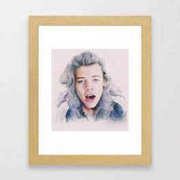 Harry Styles, DMD  Framed Art Print