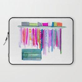 Watercolour Clothing Rack no 2 Laptop Sleeve