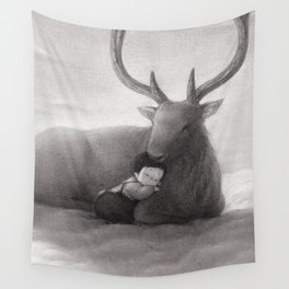 The Only Child Wall Tapestry