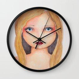 Bella SASS Girlz - Brandi - SASS = STRONG and SUPER SMART Wall Clock