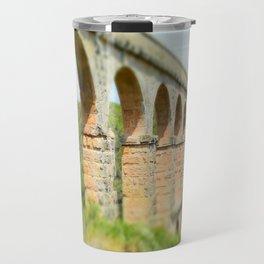 Ancient Roman Aqueduct Travel Mug