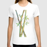 bamboo T-shirts featuring Bamboo by Alexandra Sutherland