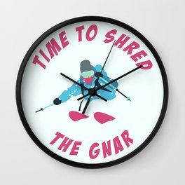 Shredding the GNAR Wall Clock