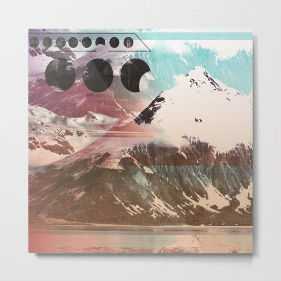 Mountainous Range Metal Print
