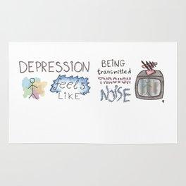 depression feels Rug