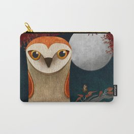 Deep in the Night, Owl Eyes Bright Carry-All Pouch