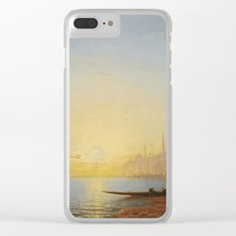 Amédée Rosier 1831 - 1898 FRENCH VIEW OF CONSTANTINOPLE Clear iPhone Case