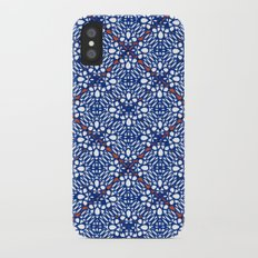 INDIGO RED SUMIYA iPhone X Slim Case