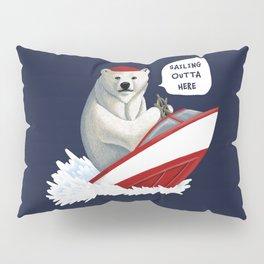Sailing Outta Here Pillow Sham