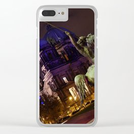 A View to a Kill - Berlin Clear iPhone Case