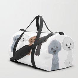 poodle allcolor Duffle Bag