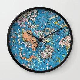 Cosmic Mindspace Wall Clock