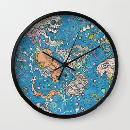 Cosmic Mindspace Wall Clock