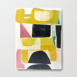 Color Study Arrangement Metal Print